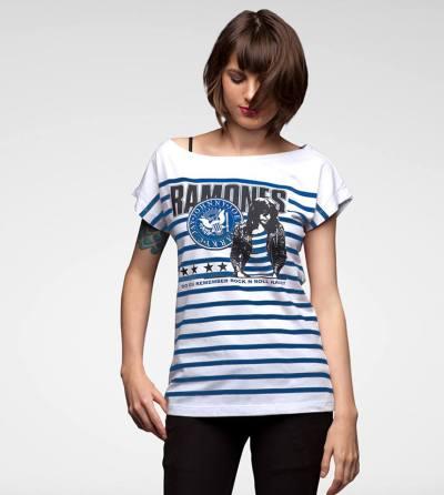 Isso é uma camiseta foda do Ramones